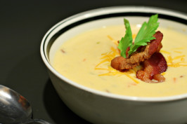Fall Beer & Cheddar Soup