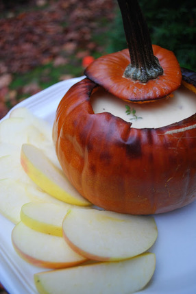 Roasted Pumpkin Fondue