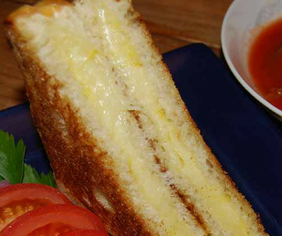 Hopyard Grilled Cheese with Nutmeg and Lemon