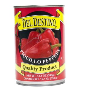 Piquillo peppers can
