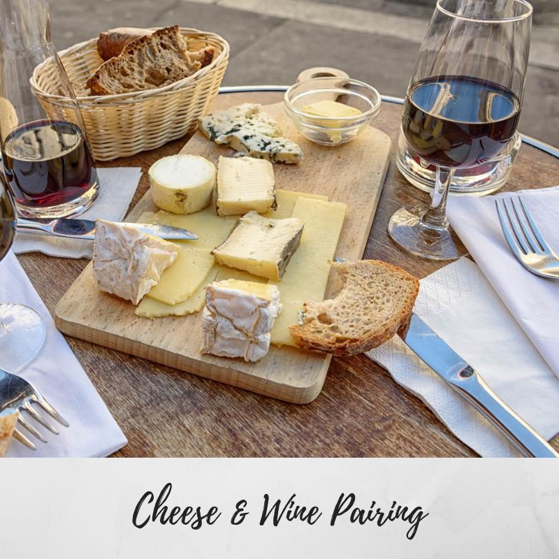Cheese & Wine Pairing Tastings Gourmet Market