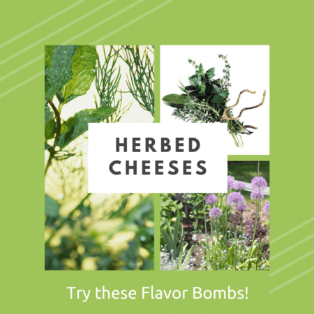 Herbed Cheese: Flavor Bombs for Spring