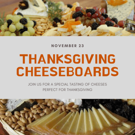 Thanksgiving Cheeseboards