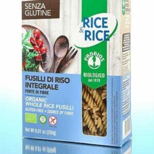 Probios Gluten Free Rice Fusilli Pasta
