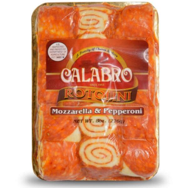 Calabro Rotolini Pepperoni