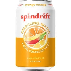 Spindrift Orange Mango Sparkling Water