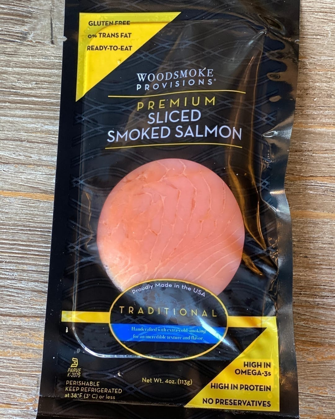 Woodsmoke Provisions Sliced Smoked Salmon