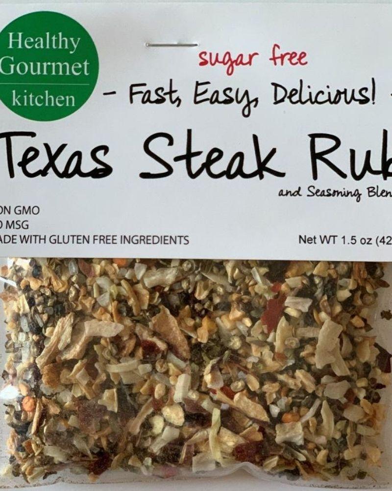 Healthy Gourmet Kitchen Texas Steak Rub