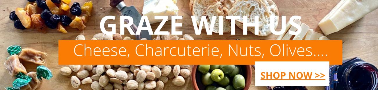 Grazing Box Tastings Gourmet Market Cheese Charcuterie
