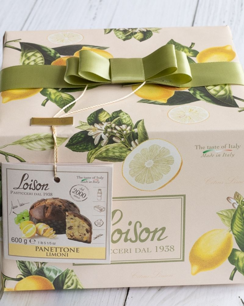 Loison Penettone Lemon Cream & Raisin